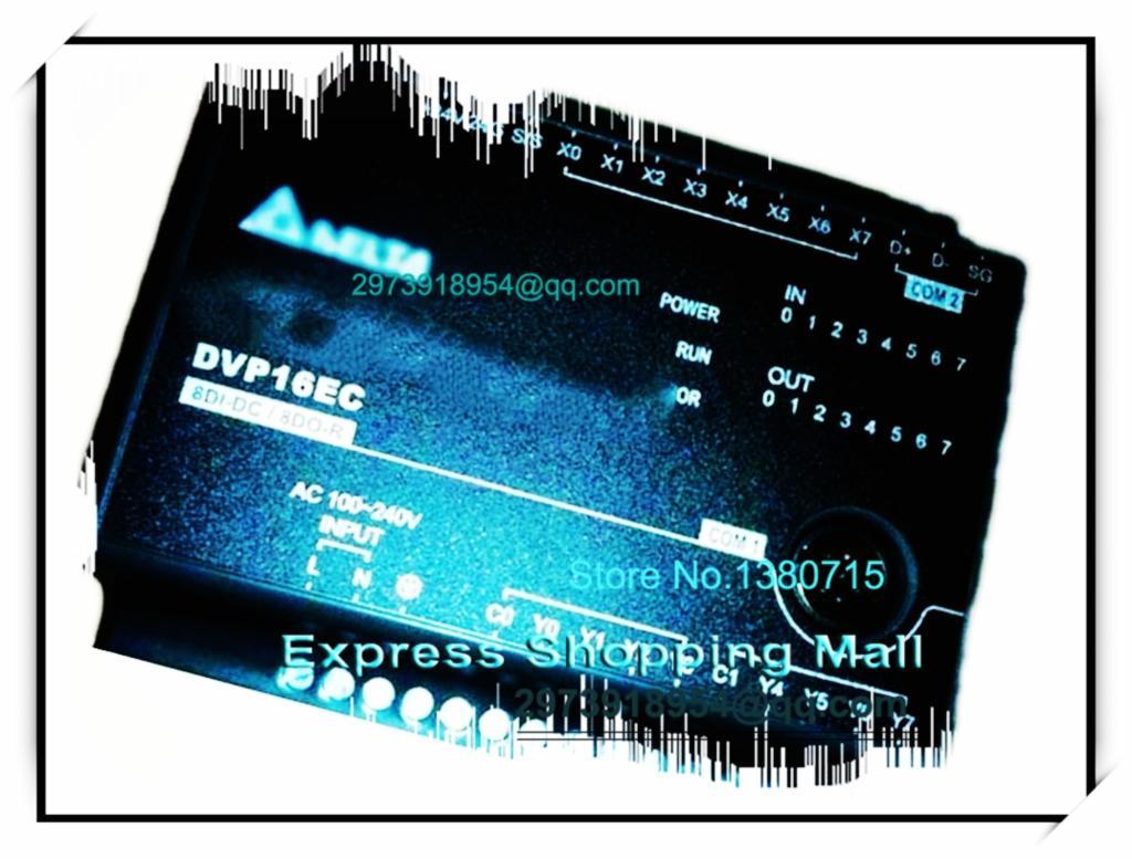ФОТО New Original DVP16EC00T3 Delta PLC EC3 series 100-240VAC 8DI 8DO Transistor output