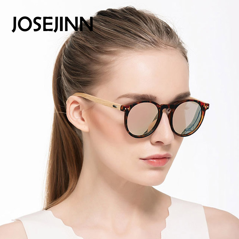 Fashion Products Men Women Glass Bamboo font b Sunglasses b font Retro Vintage Wood Lens Wooden