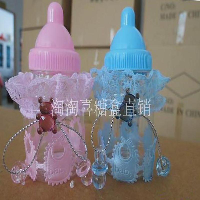 radoša barošanas pudeles konfekšu kastes personalizēta bērnu - Svētku piederumi