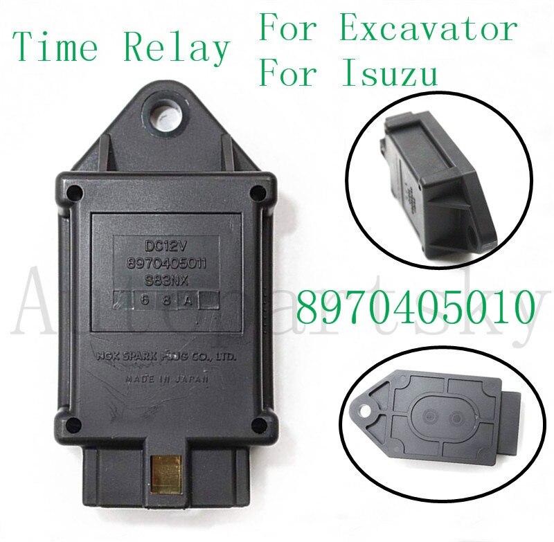 8970405010 8970405011 temps relais nouveau pour ISUZU C240 moteur pour pelle EX35U EX27U EX50U pièce de rechange accessoires