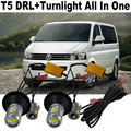 2X  Car LED Turn light VW T5 Multivan 2003~2015 AccessoriesDaytime Running Light DRL&Front Turn Signal Light All In One