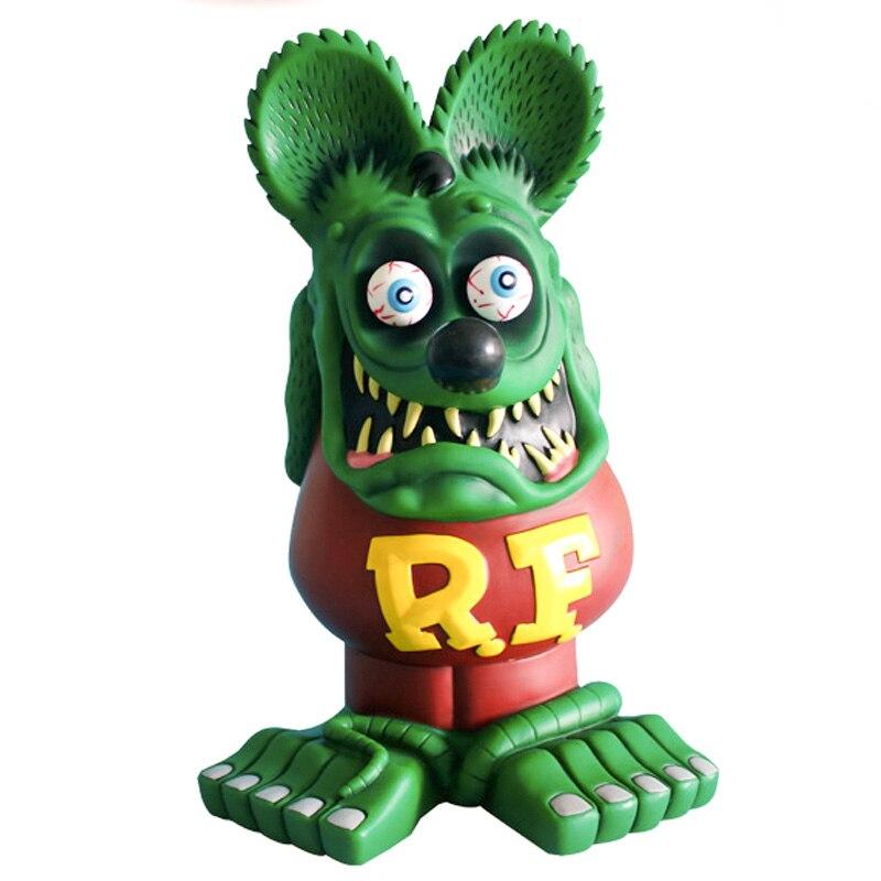 Rat Fink Colllectible modèle jouets grand RatFink Figure Statue d'action 33 CM