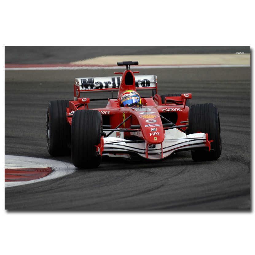 Fernando Alonso Of Spain F1 World Championship Home Decor