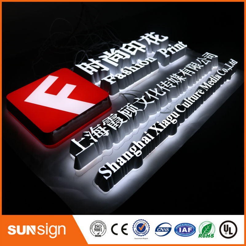 New Arrival 3d Dimensional Letters Outdoor Dimensional Led Letter Sign