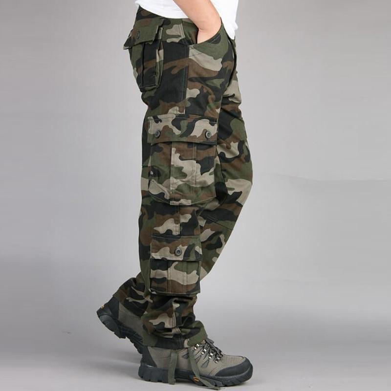 HTB11EVwb4SYBuNjSsphq6zGvVXac Camouflage Pants Men Casual Camo Cargo Trousers Hip Hop Joggers Streetwear Pantalon Homme Multi-pocket Military Tactical Pants