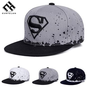 Fashion Superman Hat Adult And Child Snapback Hat For Boy Snapback Caps Baby Hip Hop Hats Baby Baseball Cap Hip Hop Sun Cap Бейсболка