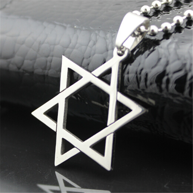 ER Charm Letter Jesus Cross Pendant 316L Titanium Steel Necklace Women Fashion Designer Jewlery