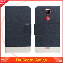 5 Colors Factory Direct!! Geotel Amigo Case Dedicated Flip Fashion Luxury Leather Protective 100% Special Phone Cover