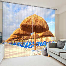 Move The Holiday Place To House 3D Printing Curtains With Bedding Room Living Room or Hotel Window Curtains