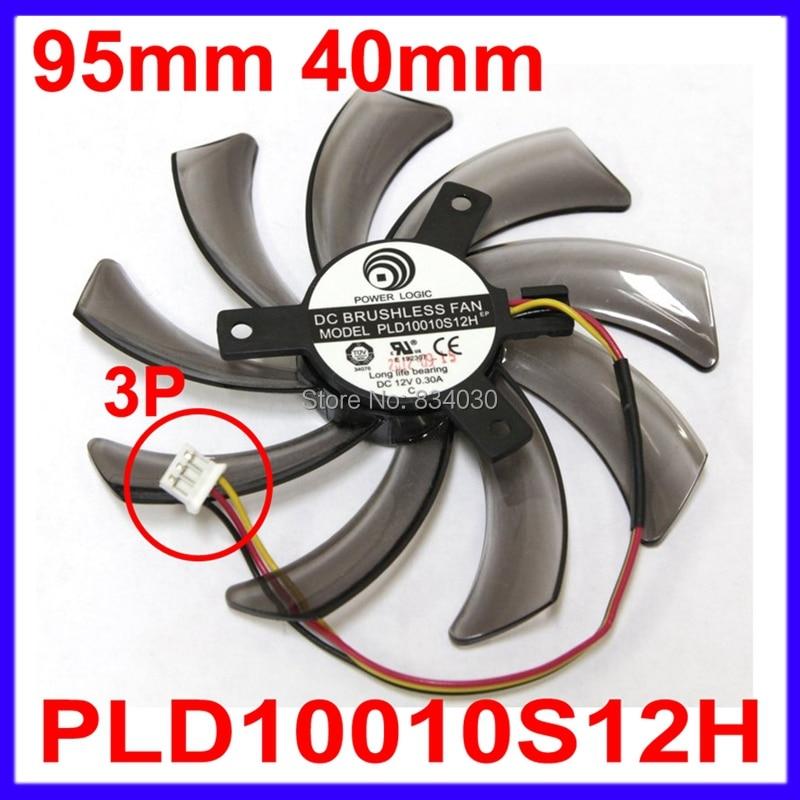 Computer Cooler Fan Replacement Power Logic PLD10010S12H