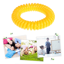 10pcs/Pack Mosquito Repellent Bracelets Multicolor Pest Control  Bracelets 240Hours Insect Protection Outdoor Indoor Adults Kids