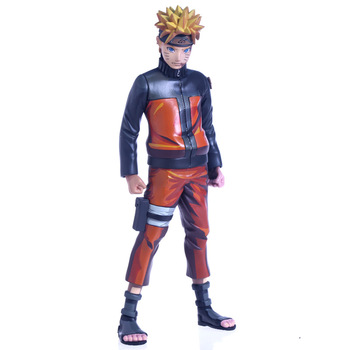 24cm Anime Paint Naruto Shippuden Uzumaki Naruto Figure Model Collection Toys