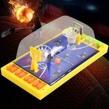 Двойная кнопка игры семяизвержения баскетбольные настольные игры портативная детская настольная головоломка настольная игрушка баскетбол детская игрушка обучающие игрушки