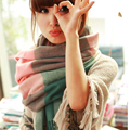 2016 new Fashion Wool Winter Scarf Women Spain Desigual Scarf Plaid Thick Brand Shawls and Scarves for Women
