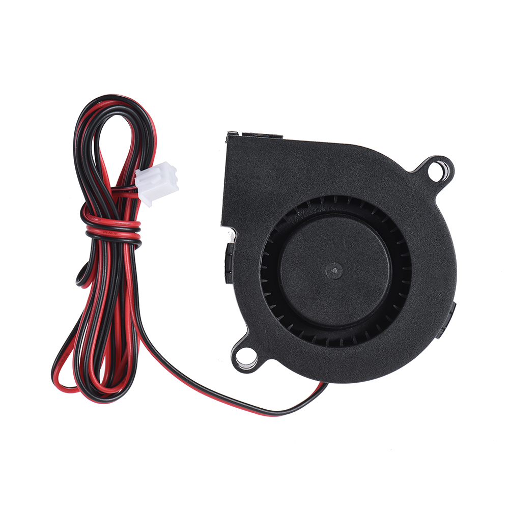 24V DC 50mm Blow Radial Fan Cooling Hot End Extruder for RepRap i3 3D Printer Blow Radial Fan Cooling For 3D Printing 3d pinter fan 1pcs dc 12v 5015 cooling fan hotend extruder for reprap 3d printer parts 50mm blower radial cooling fan