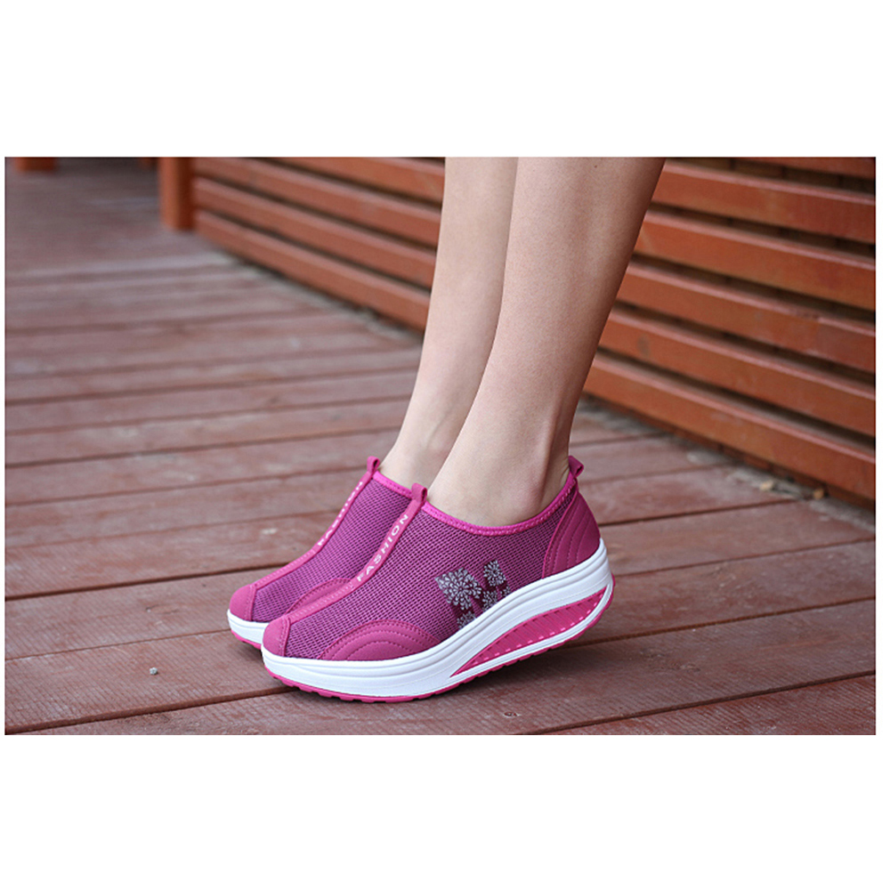 HAFELE Walking-Shoes Slip-On Women Loafers Moccasin Mesh Casual