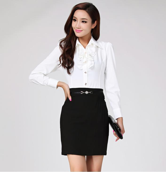 Collection Ladies Business Blouses Pictures - Reikian