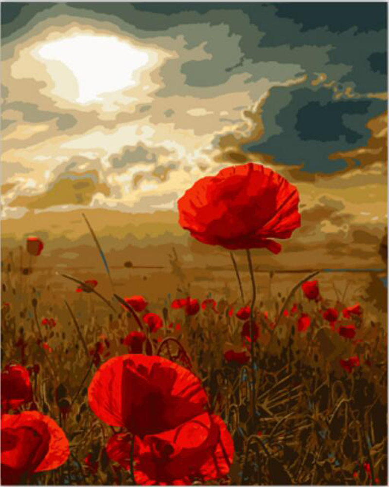 Online get cheap poppy flowers pictures - How to paint poppy flowers ...