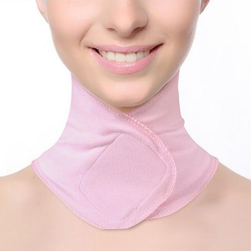Dropshipping. exclusivo. SPA Gel cuello máscara Anti arrugas cuidado de la piel hidratante cuello membrana blanqueamiento dental para el cuello de membrana
