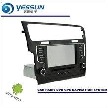 Android Sistema de Navegación del coche Para Volkswagen VW Golf MK7/Golf Wagon-Radio CD Reproductor de DVD Estéreo DEL GPS Navi Pantalla HD Multimedia