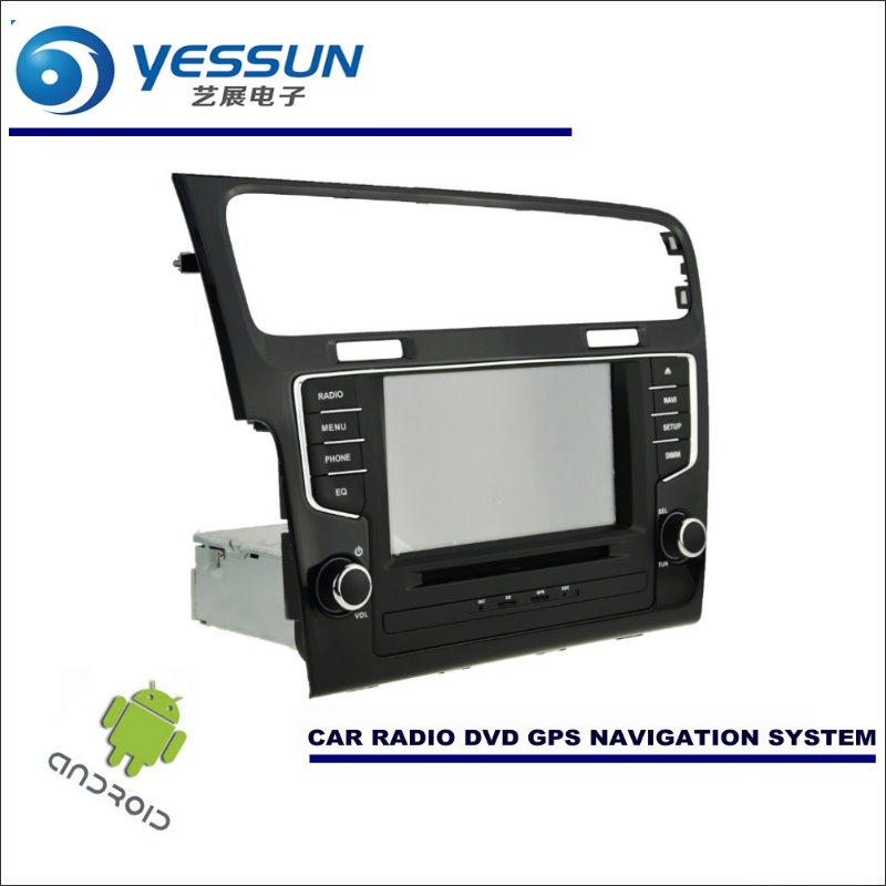 yessun car android navigation system for volkswagen vw. Black Bedroom Furniture Sets. Home Design Ideas