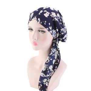 Image 4 - Müslüman tam kapak iç başörtüsü kap islam şapkalar şapka Underscarf bandaj güzel dantel Up türban kadınlar için başörtüsü moda
