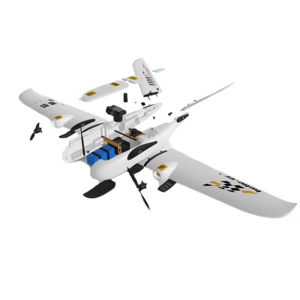 Believer UAV 1960mm Wingspan EPO Portable Aerial Survey Aircraft RC Airplane KIT As CLOUDS Pakistan