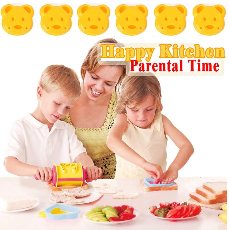 Sandwich, das Form 529354 DIY Kinderreiskugelform bildet, um reizende - Fütterung - Foto 3