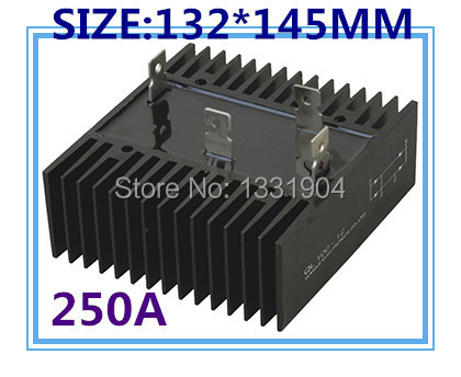 free shipping  New single Phase Diode Bridge Rectifier QL250A 1000V modules hot selling factory direct brand new mds200a1600v mds200 16 three phase bridge rectifier modules