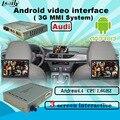 Caixa android multimedia interface de Vídeo AUDI Q7 A8 A6 c6 com 3g MMI Plus sistema construído em Wi-fi