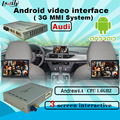 android Video multimedia interface box  AUDI A6 A8 Q7 c6  with 3g MMI Plus system  built in WiFi