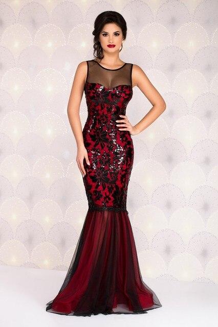 2017 Real Plus Size Lange Sexy Kleider Club Ereignis Kleid Stück ...