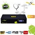 Цифровой Android Спутниковый FreeSat V8 Ангел IPTV DVB S/S2 DVB T/T2 DVB-C СЕЛ IP Combo Поддержка CCCAM AC3 Мощность vu Biss