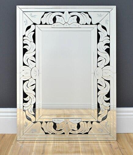 Espejos de la pared sin marco compra lotes baratos de for Espejos ovalados sin marco