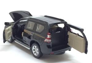 Image 5 - 1:32อัลลอยดึงกลับรถของเล่น,เลียนแบบสูงToyota LAND CRUISER PRADO,โลหะหล่อ,เดิมโตโยต้าพราโด้,จัดส่งฟรี