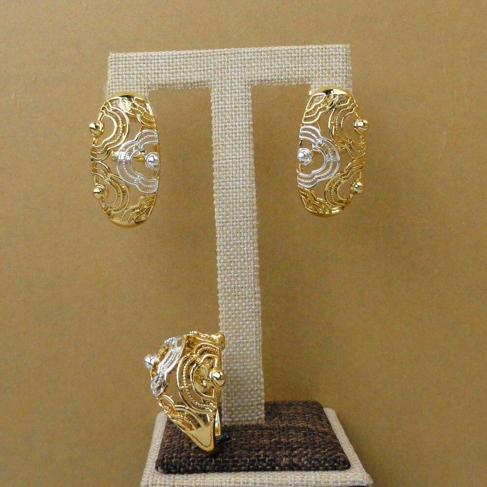 Yuminglai Dubai 24 K Gold Jewlery Exquisite Schmuck Sets Halskette FHK5387-in Schmucksets aus Schmuck und Accessoires bei  Gruppe 3