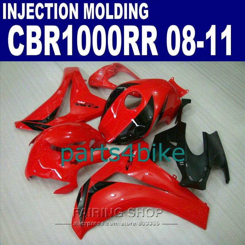 red CBR1000RR 2009 2008 Fairing kit For Honda 2010 2011 cbr 1000rr 08 09 10 11 EMS free fairings +7gifts 1