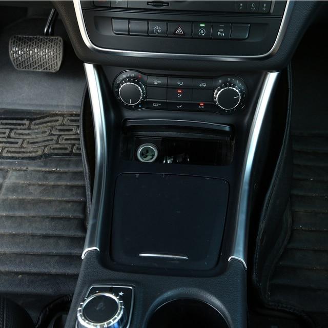 accessori auto interni pannello consolle centrale moulding sticker