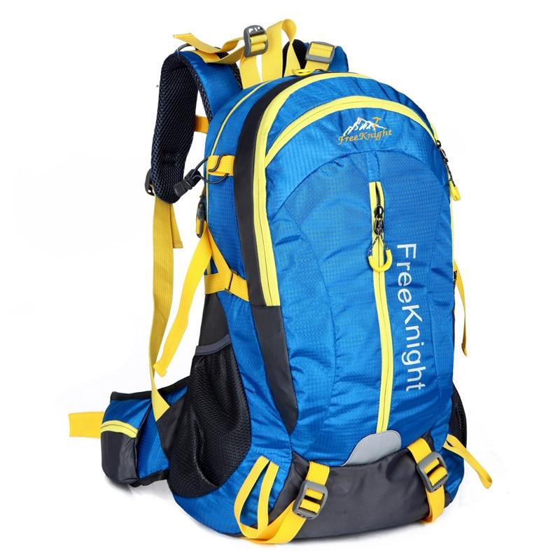 40L Nylon  Ultralight Sport Bag Large Climbing Backpack Waterproof Outdoor Mountaineering Bags Multifunctional Hiking Backpack