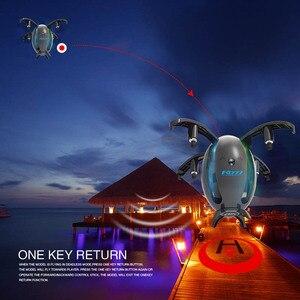 Image 4 - Ei förmigen drone Faltbare UAV Mini WIFI Runde flugzeug Fernbedienung flugzeug Elektrische spielzeug