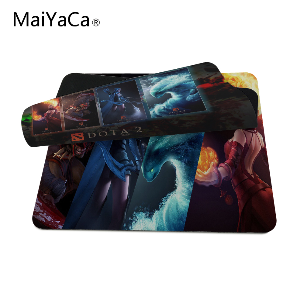 New mat Artgerm Crystal Maiden DotA 2 Drow Ranger Lina Inverse wallpaper Mouse Mats Anti-Slip Rectangle Mouse Pad