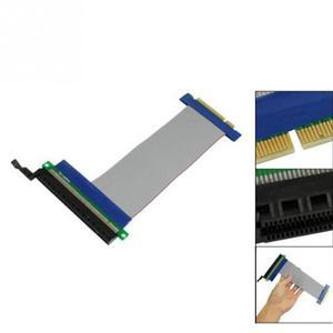 Image 3 - Cable de extensión Flexible de 15cm, tarjeta elevadora de ranura PCI Express PCI E 8X a 16X #908