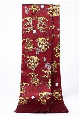 De gama alta de los hombres de seda de la bufanda de seda de la bufanda de seda de negocios Británico man2