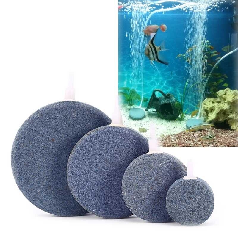 Pet Supplies Aquarium And Pond Round Ball Or Cylinder Air Stones For Air Pump Fish Tank Fish & Aquariums