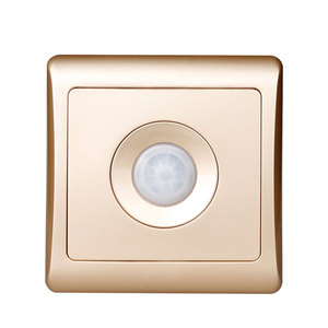 Image 4 - Bcsongben New Arrivals 220v 86 wall smart home led Infrared control energy saving delay  Lights Lamps motion sensor light switch