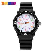 Children Watches 50M Waterproof Quartz Wristwatches Jelly Kids Clock boys Hours