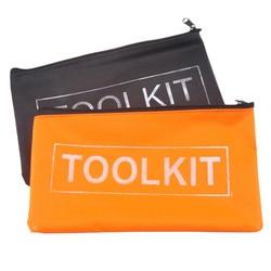 Zwart Geel Waterdichte Oxford Doek Gereedschap Set Bag Rits Opslag Instrument Case Pouch Tool Kit Verpakking Zak Tool Organisatoren