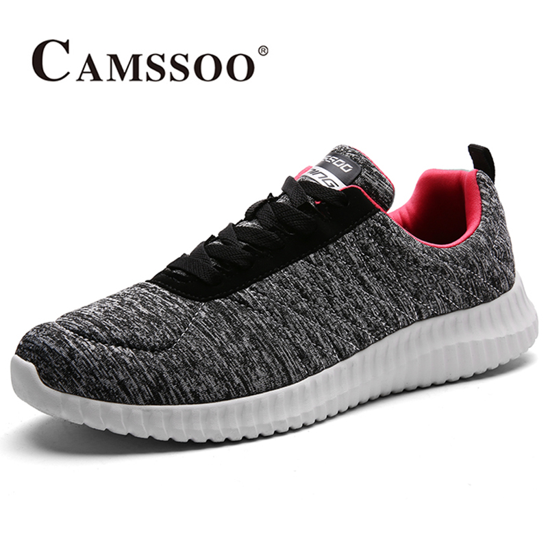 2017 Camssoo Womens Breathable Walking Shoes Light Weight Outdoor Sport Shoes Non-slip Travel Shoes For Women Free Shipping 3109