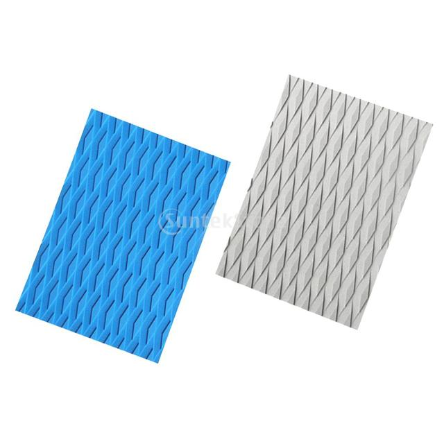 a2663a7d91 US $5.44 18% OFF|Ultralight Non slip Diamond Grooved EVA Surfing Surf SUP  Traction Pad Deck Grip Tail Pad Sheet for Surfboard/Kiteboard/Skimboard-in  ...