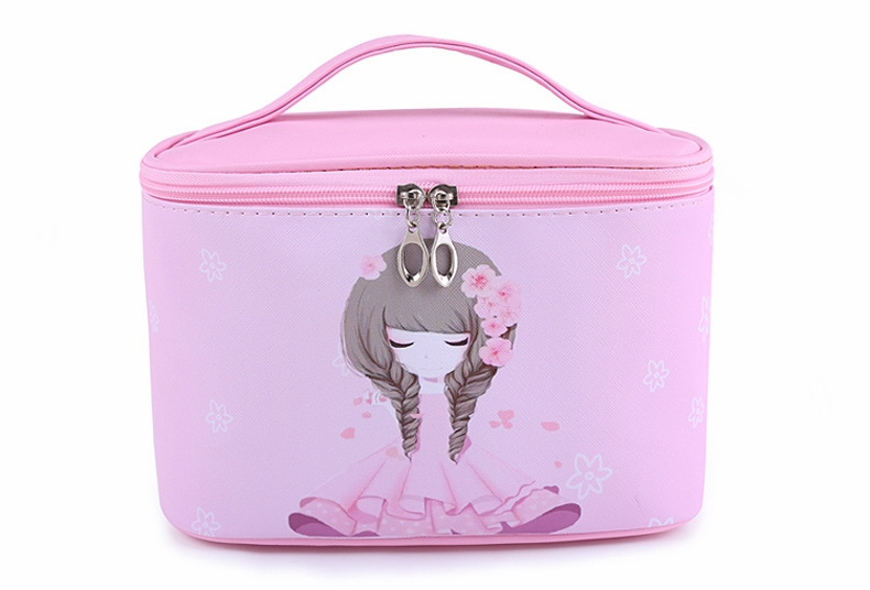 High Capacity Cosmetic Bag Girls Travel Organizador Toiletry Bag Women Necessarie Beauty Professional Makeup Box SZL8287